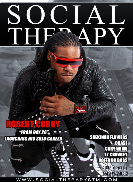 Social Therapy Magazine Feature's R&B Artist Robert Curry